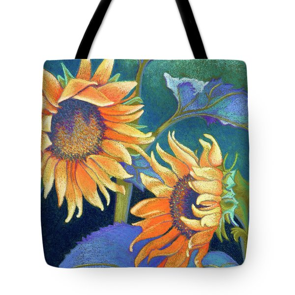 Kansas Suns Tote Bag by Tracy L Teeter