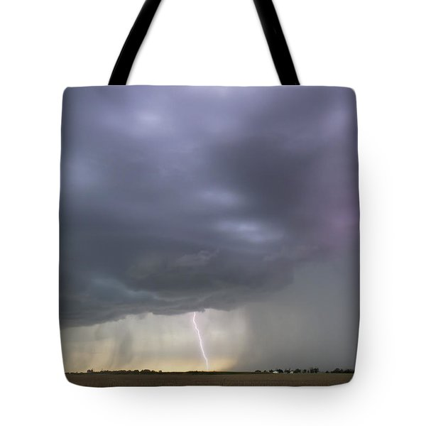 Kansas Thunderstorm Tote Bag