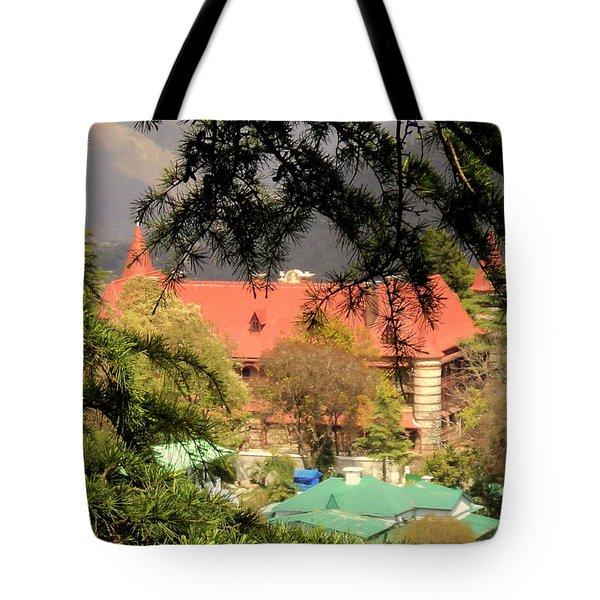 Kapurthala Palace Mussoorie Tote Bag by Salman Ravish