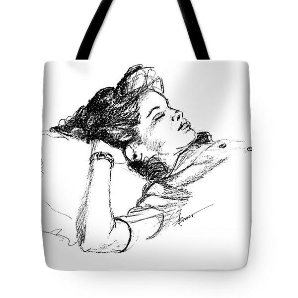 Karen's Nap Tote Bag