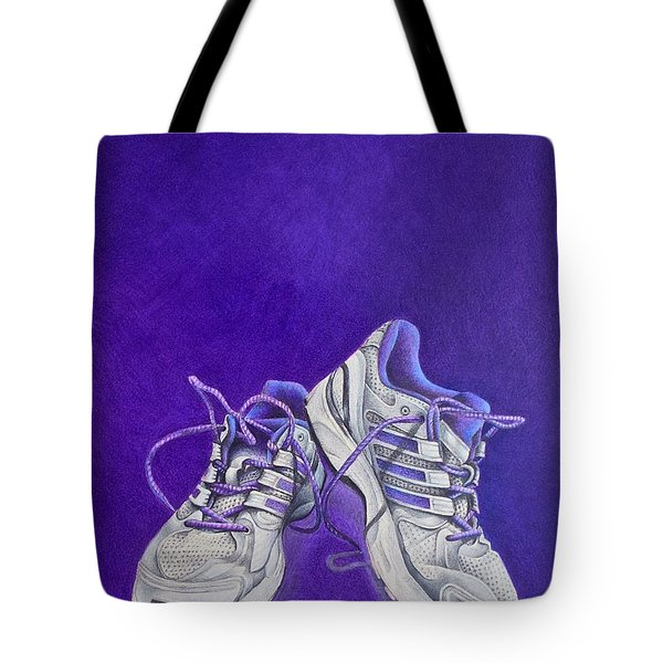 Karen's Shoes Tote Bag by Pamela Clements