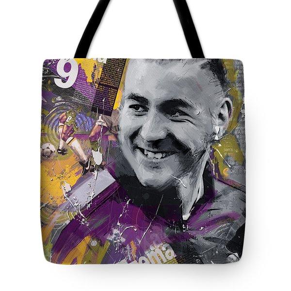 Karim Benzema - C Tote Bag