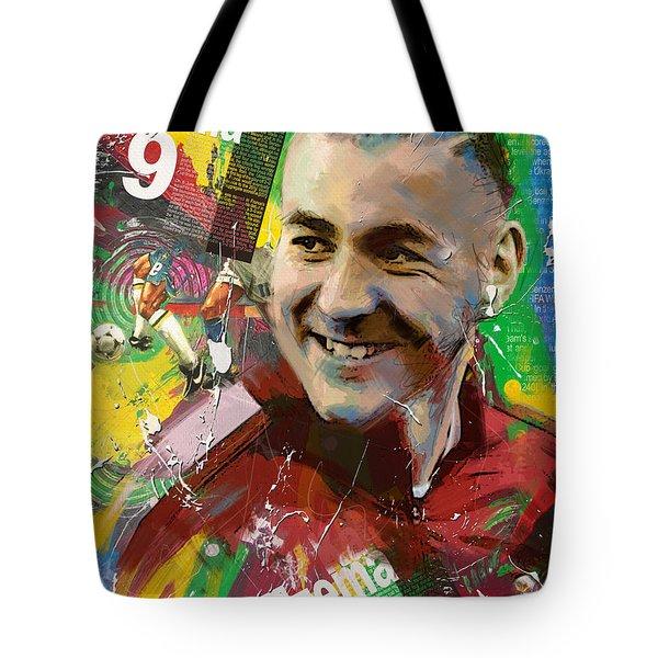 Karim Benzema Tote Bag