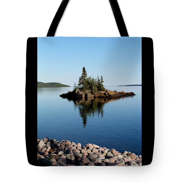Tote Bag featuring the photograph Karin Island - Photography by Gigi Dequanne
