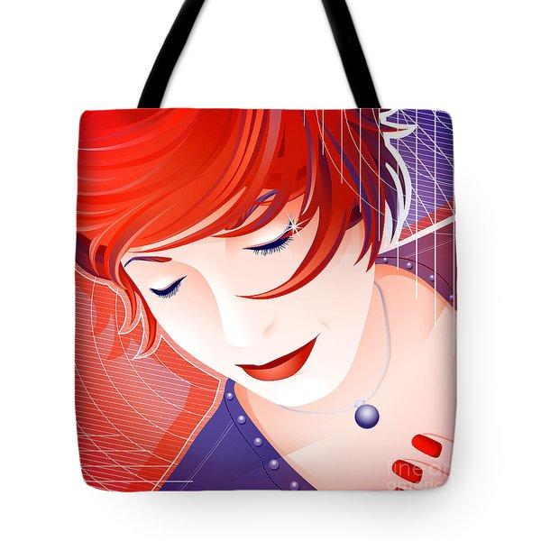Karin Tote Bag by Sandra Hoefer