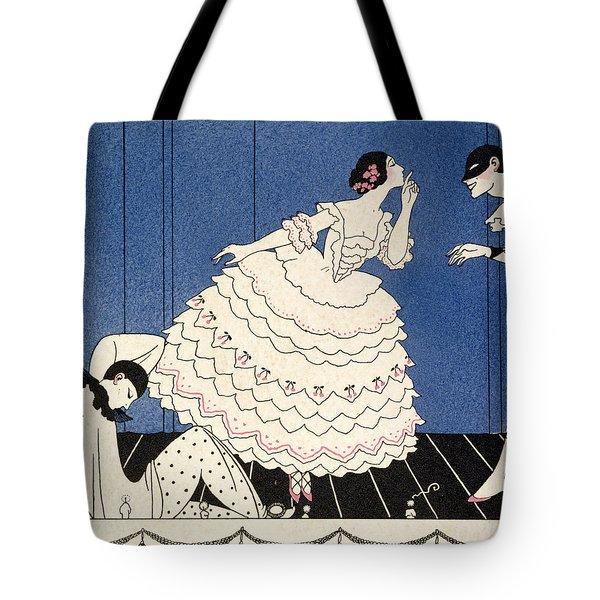 Karsavina Tote Bag by Georges Barbier