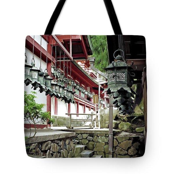 Kasuga Lantern Shrine - Nara Japan Tote Bag