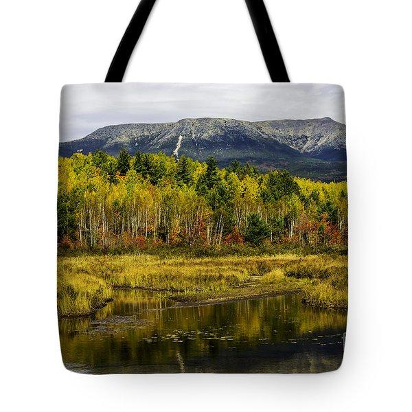 Katahdin Baxter State Park Maine Tote Bag