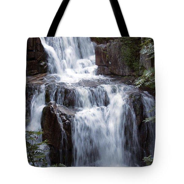 Katahdin Stream Falls Baxter State Park Maine Tote Bag