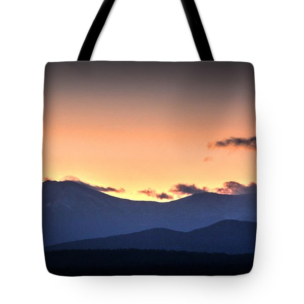 Katahdin Sunset Tote Bag