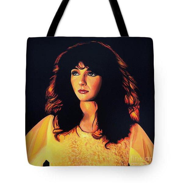Kate Bush Painting Tote Bag