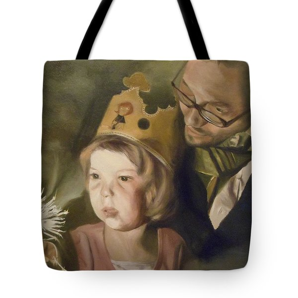 Kate's Sparkler Tote Bag by Cherise Foster