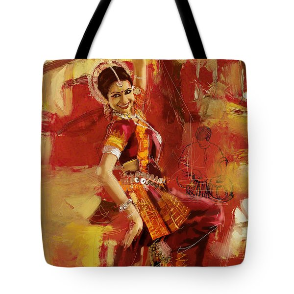 Kathak Dancer 6 Tote Bag