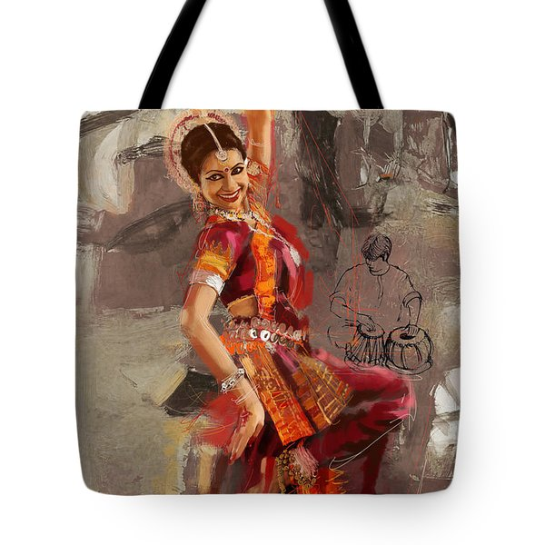 Kathak Dancer 7 Tote Bag