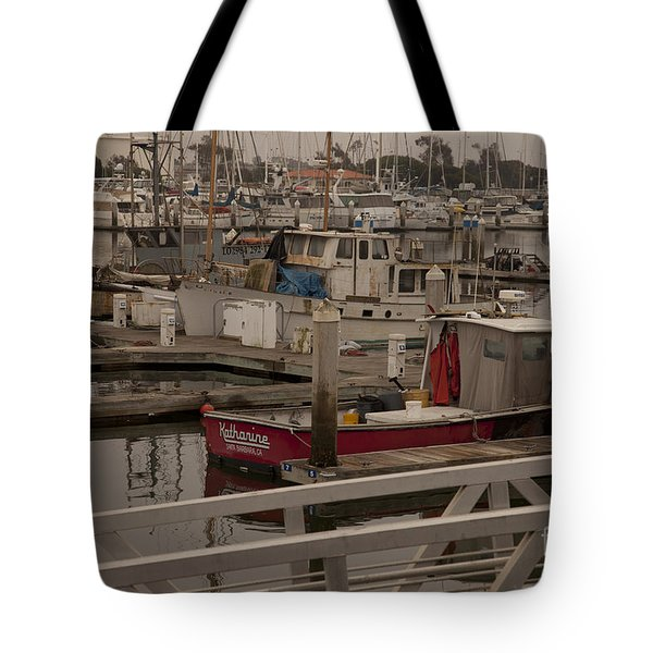 Katherine Tote Bag by Amanda Barcon