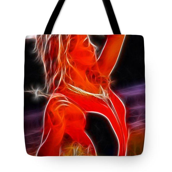 Katie Daisies Fractal Tote Bag by Gary Gingrich Galleries