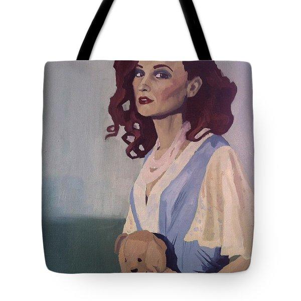 Katie - Teddy Bear Tote Bag