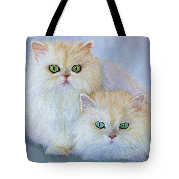 Katrina And Bjorn Tote Bag