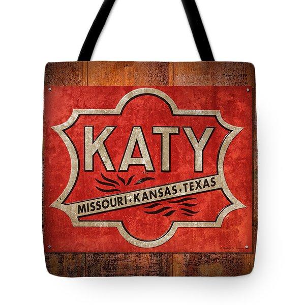 Katy Railroad Sign Dsc02853 Tote Bag