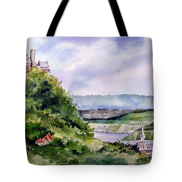 Katz Castle Tote Bag