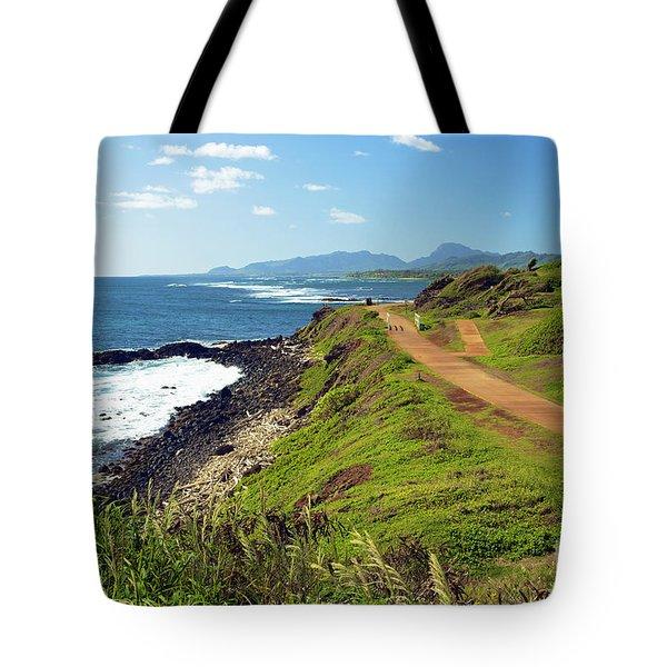 Kauai Coast Tote Bag by Kicka Witte