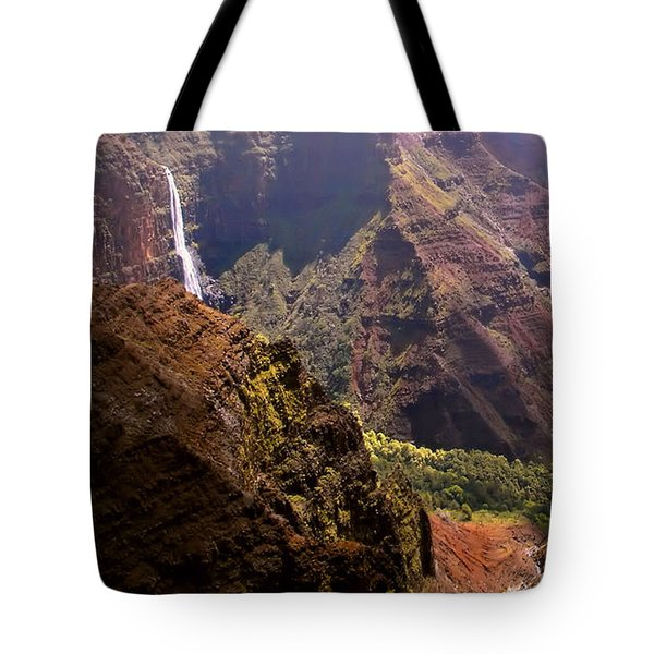 Tote Bag featuring the photograph Kauai Colors by Katie Wing Vigil