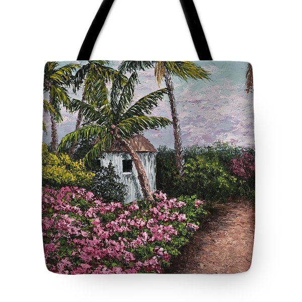 Kauai Flower Garden Tote Bag