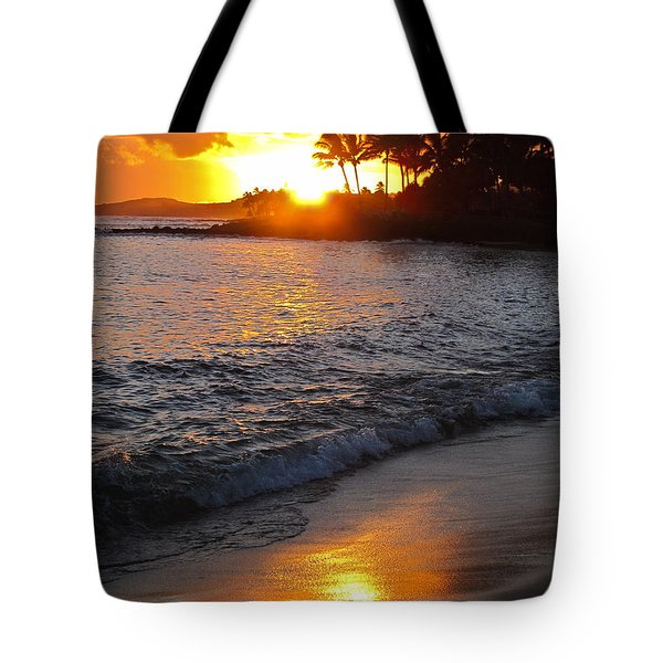 Kauai Sunset Tote Bag