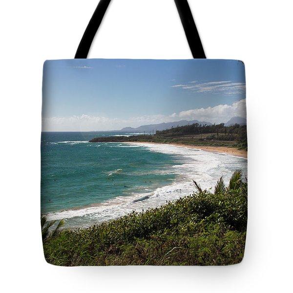 Kauai Surf Tote Bag