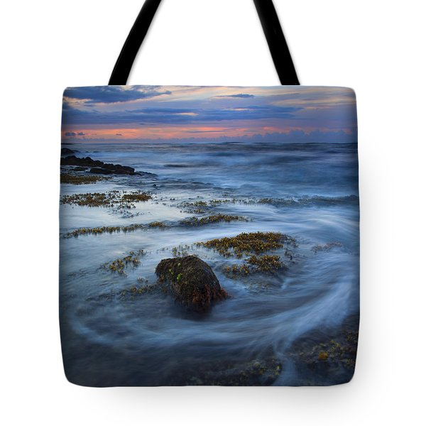 Kauai Tides Tote Bag by Mike  Dawson
