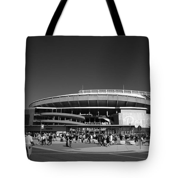 Kauffman Stadium - Kansas City Royals 2 Tote Bag by Frank Romeo
