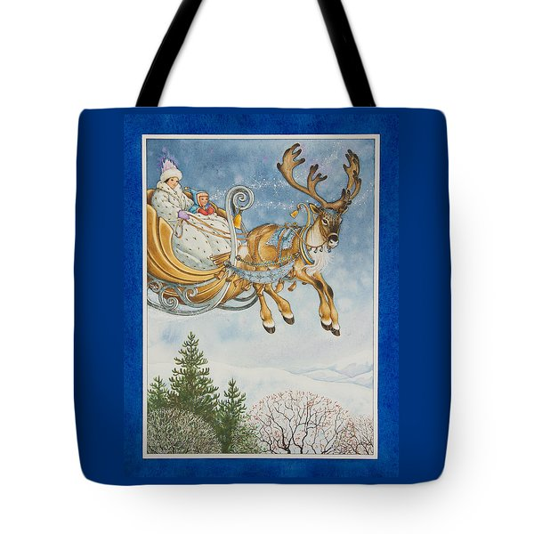 Kay And The Snow Queen Tote Bag