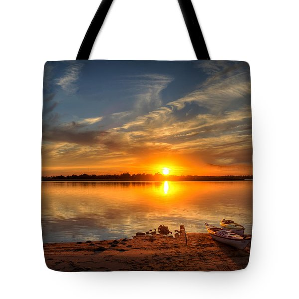 Kayaker's Dream Tote Bag