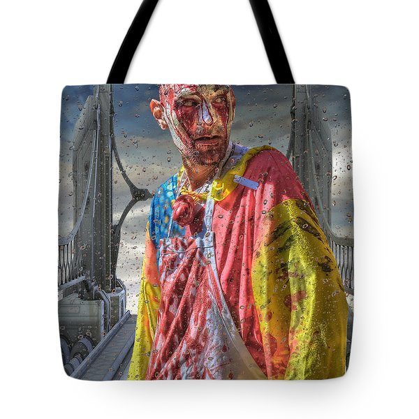 Kc Zombie Walk  Tote Bag