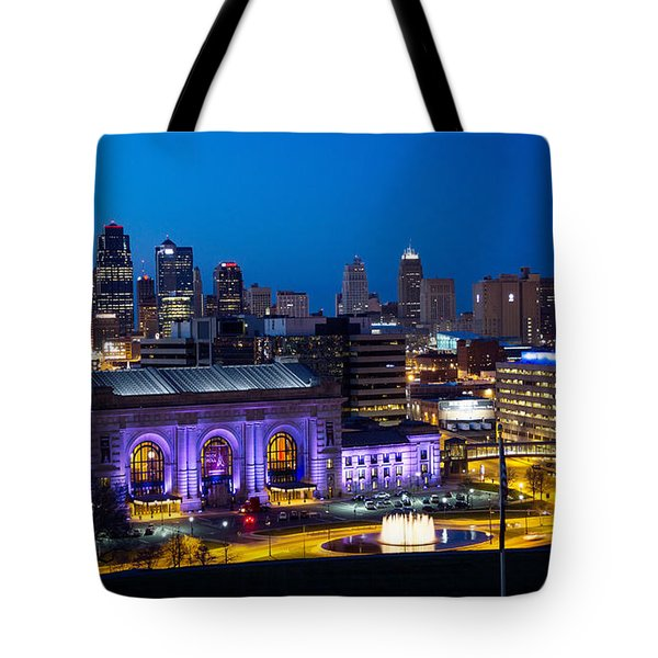 Kcmo Union Station Tote Bag