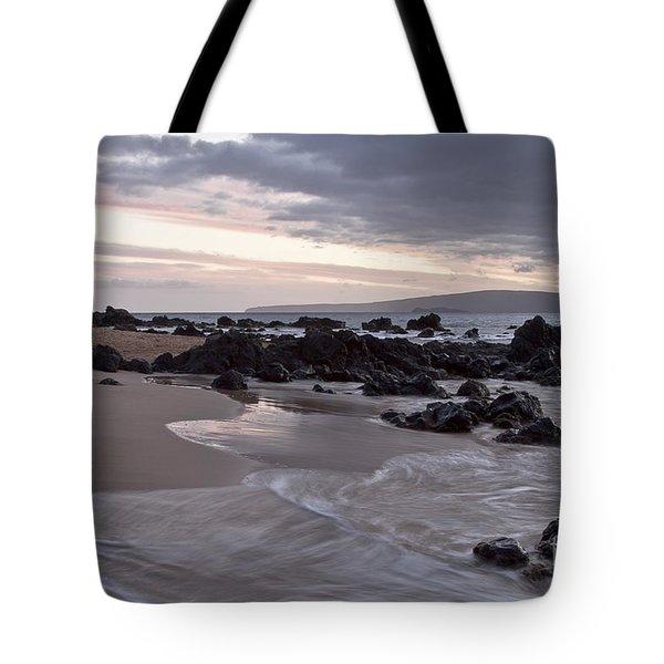 Keawakapu Kahaulani Aloha Wailea Maui Hawaii Tote Bag by Sharon Mau