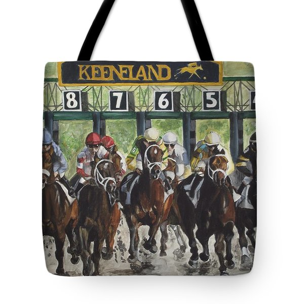 Keeneland Tote Bag