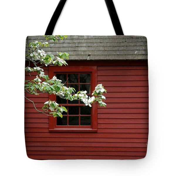 Tote Bag featuring the photograph Keeney School House by Christiane Hellner-OBrien