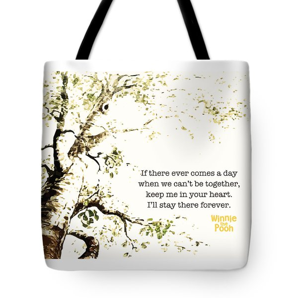 Keep Me In Your Heart Tote Bag