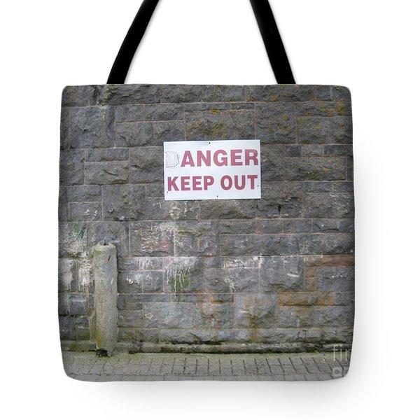 Keep Out Aran Islands Ireland Tote Bag