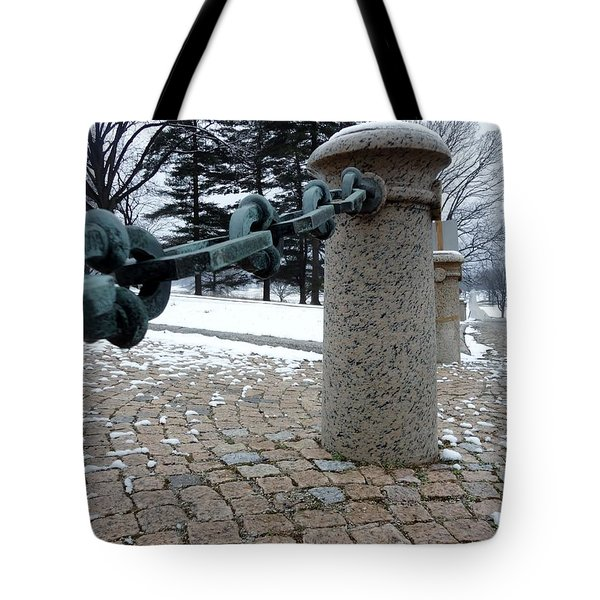 Keep Out Tote Bag by Michael Porchik