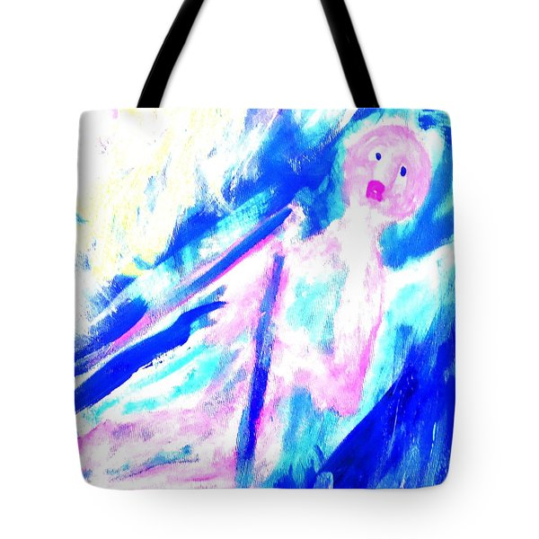 Feeling So Lonely But Must Keep Silent In The Boat Tote Bag