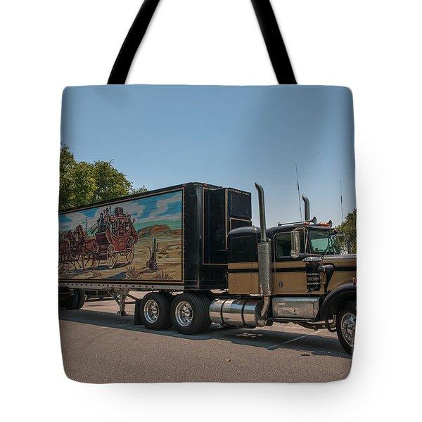 Keep Those Wheels A Truckin Tote Bag
