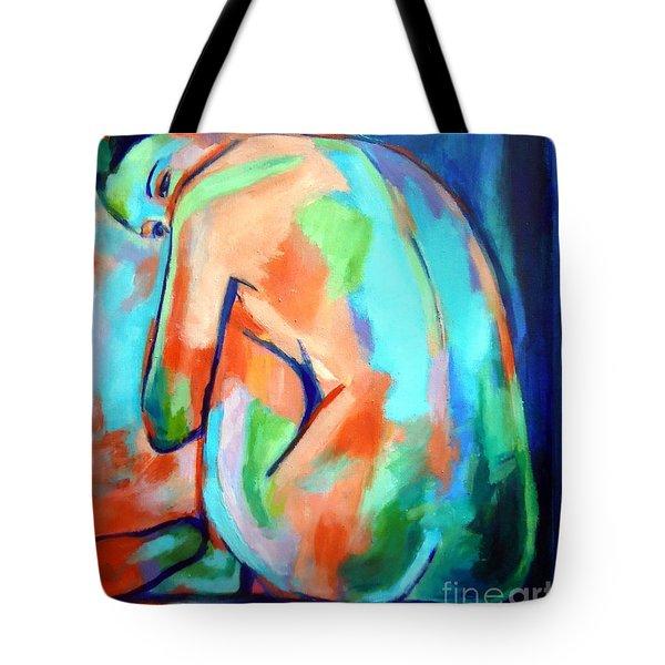 Keeper Of Secrets Tote Bag by Helena Wierzbicki