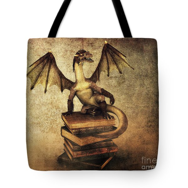 Keeper Of Wisdom Tote Bag by Jutta Maria Pusl