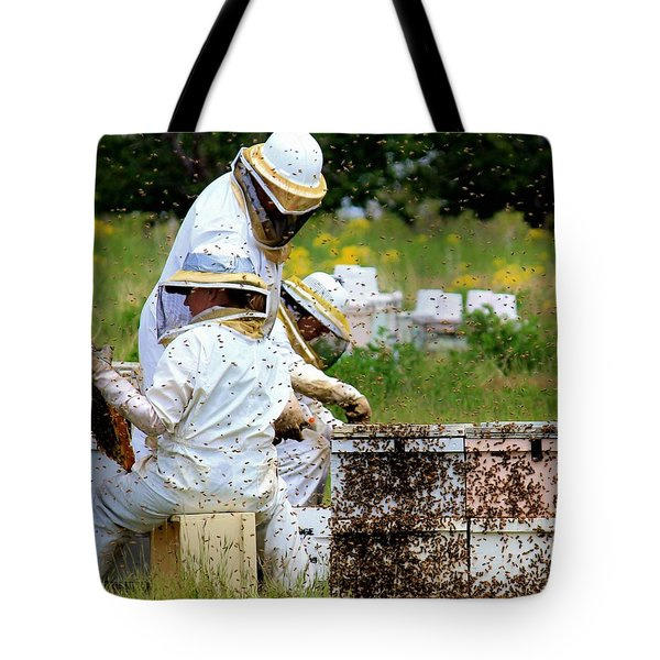 Keepers Of The Bee Tote Bag
