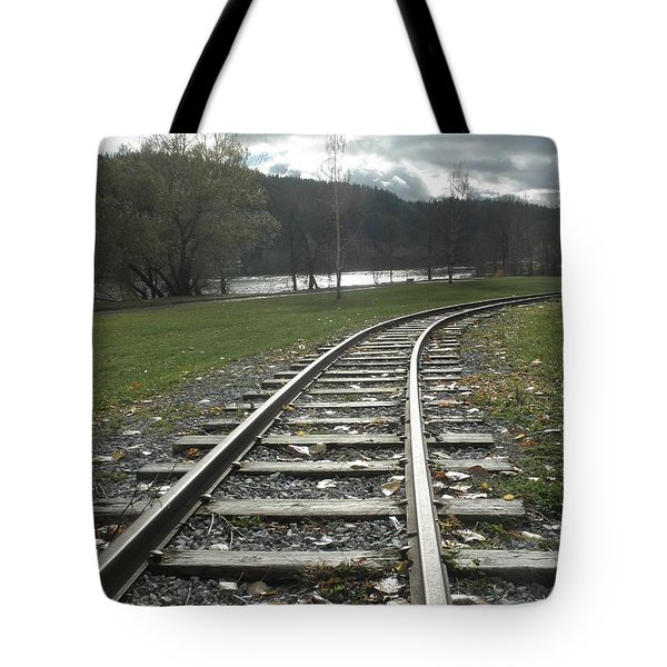 Keeping Track Tote Bag