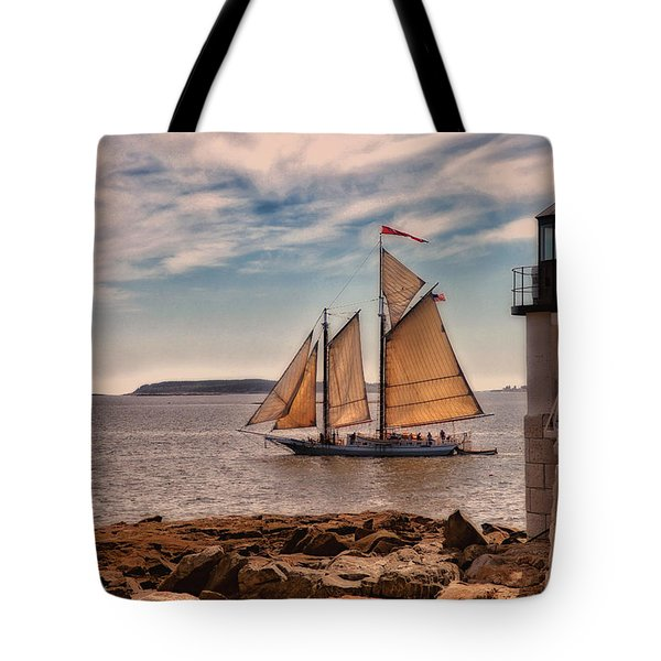Keeping Vessels Safe Tote Bag by Karol Livote