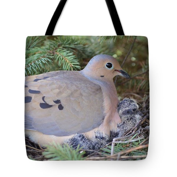 Keeping Watch Tote Bag by Dacia Doroff