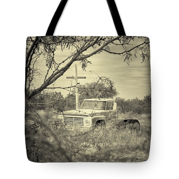 Tote Bag featuring the digital art Keeping Watch by Erika Weber
